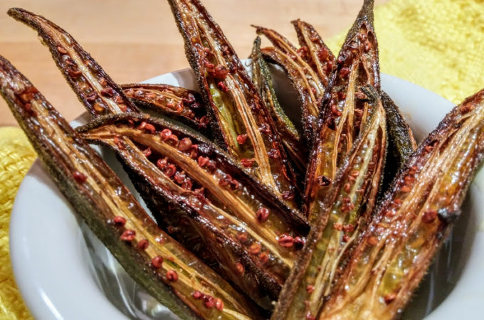 Roasted Okra Fries:Tailgating 101 Part 2